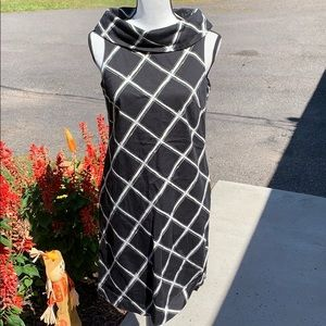 6 MICHAEL Michael Kors Shift Dress with Cowl Neck